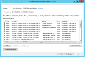 Webbased Active Directory / Federated user password and recovery tool
